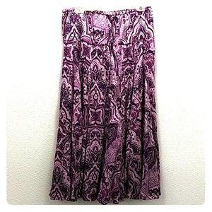 Lucky Brand Women's Full Length Skirt L